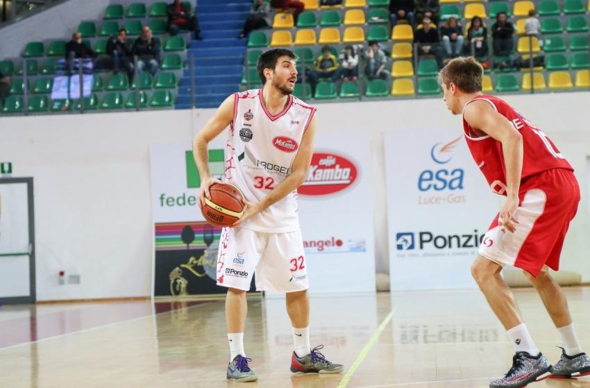 Basket. La Proger Chieti riparte dal play Diego Monaldi