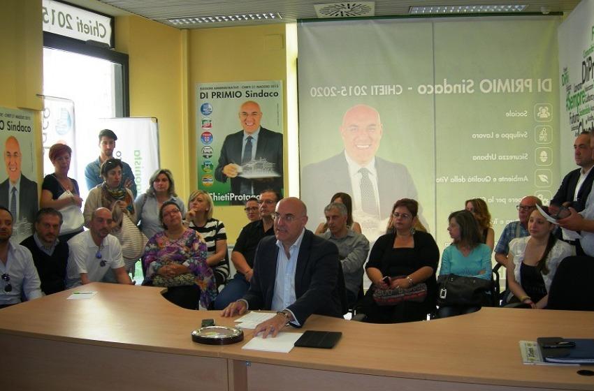 Chieti, Di Primio va da solo, Febo con Di Paolo al ballottaggio?