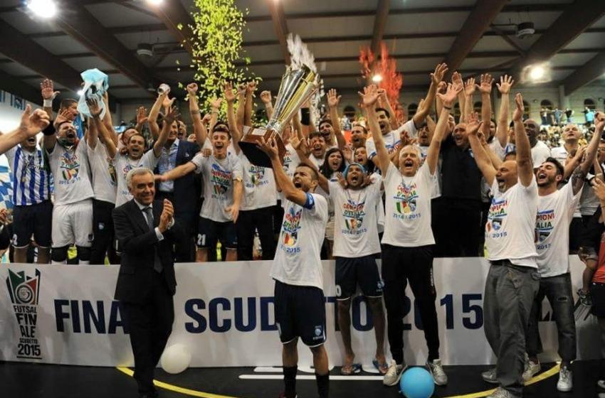 Il Pescara ha vinto lo scudetto del calcio a 5