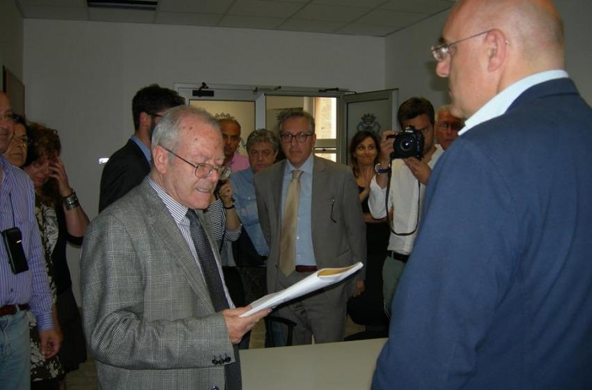 Di Primio presenta la nuova giunta municipale al Marrucino