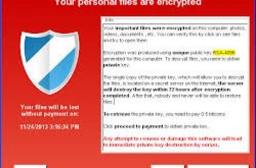 Attenzione al Cryptolocker il nuovo potente virus usato per ricattare