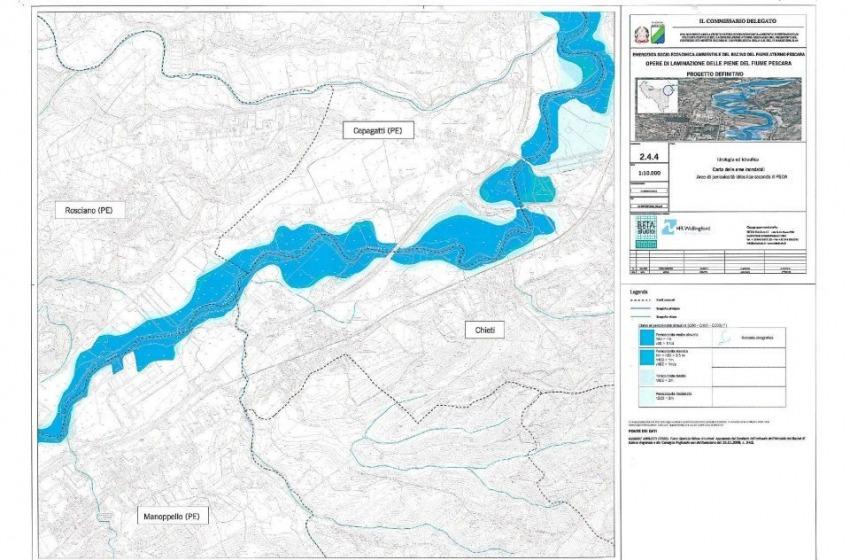 Intervento Faraonico sul fiume Aterno-Pescara da 54 milioni