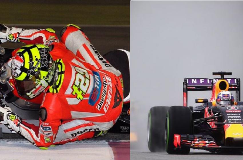 I piloti di Formula Uno mangiano di più di quelli da Moto GP