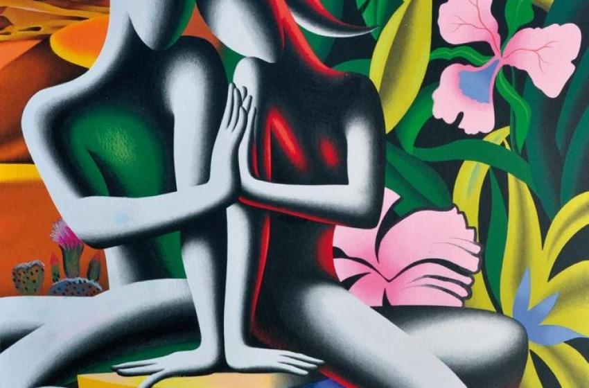 L'artista americano Mark Kostabi vince 'Un mosaico per Tornareccio 2015'