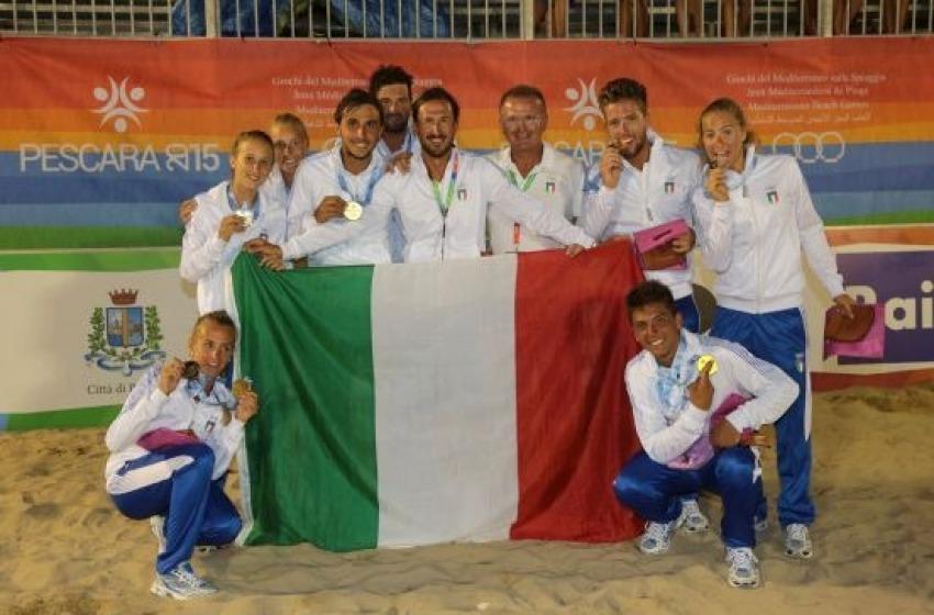Giochi del Mediterraneo sulla Spiaggia: altre medaglie per l'Italia