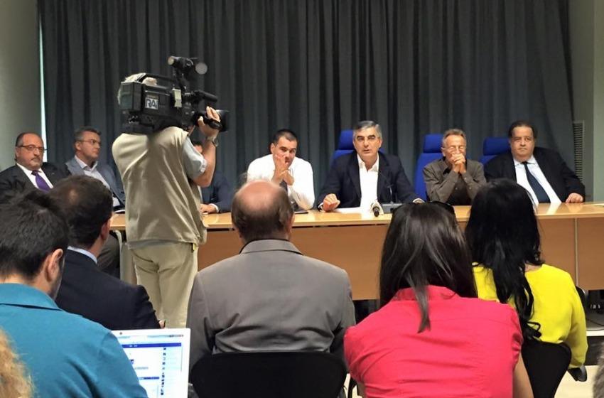 D'Alfonso presenta 'D'Alfonso Bis' con Gersolimo e 'vecchie' deleghe