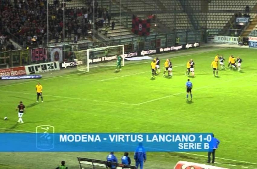 Il Modena a cinque minuti dalla fine segna la rete che vale 3 punti