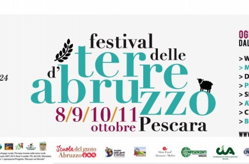 Festival delle Terre d'Abruzzo fino a domenica a Pescara Vecchia