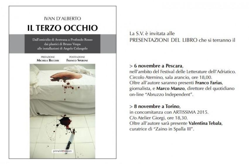 #FLA2015. Ivan D'Alberto presenta 'Il Terzo Occhio'