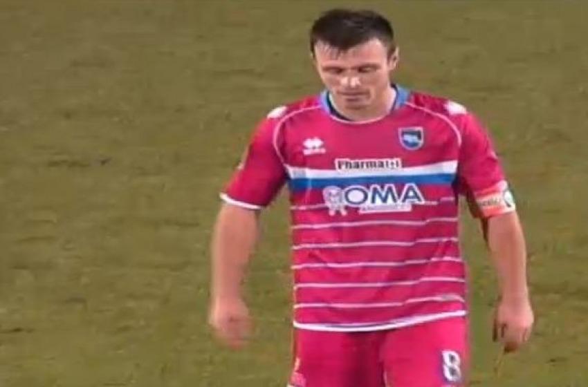 Disastro Delfino a Novara battuto 1-0. Memshaj espulso al 95'