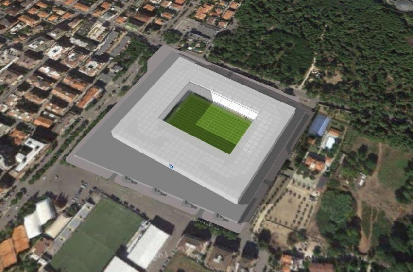 D'Alfonso e Sebastiani presentano il progetto del Nuovo Stadio Adriatico