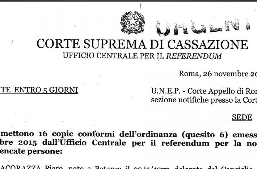"""Via libera dalla Corte di Cassazione al Referendum """"No Triv"""": adesso si vota ma basterà?"""