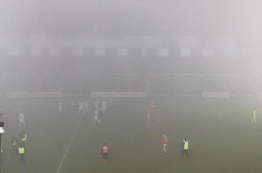 Il Teramo chiude malamente la stagione d'andata perdendo sotto la nebbia con la Spal