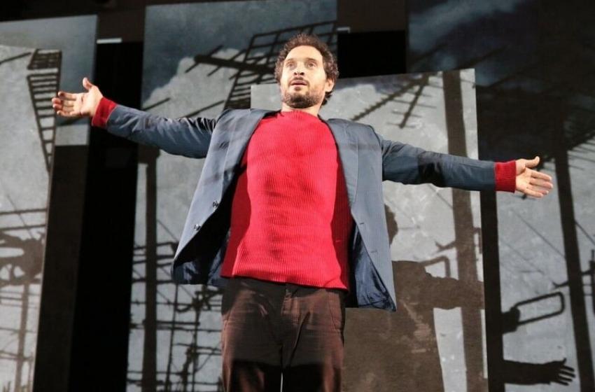"Claudio Santamaria in ""Gospodin"" al Teatro Massimo di Pescara giovedì 28 gennaio"