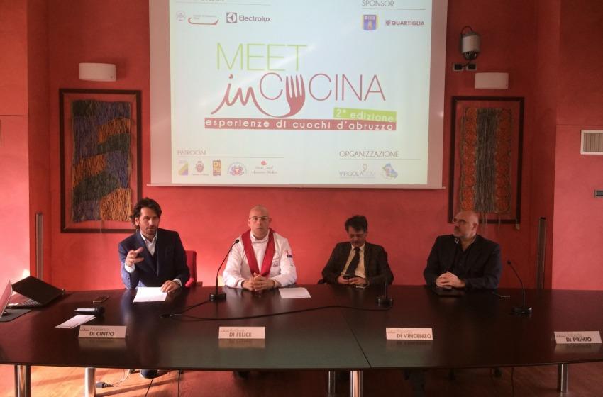 A Chieti torna MEET IN CUCINA,  esperienze di cuochi d'Abruzzo