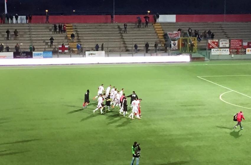 Al 'Bonolis' il Teramo batte l'Ancona per 1-0 grazie ad un autogol