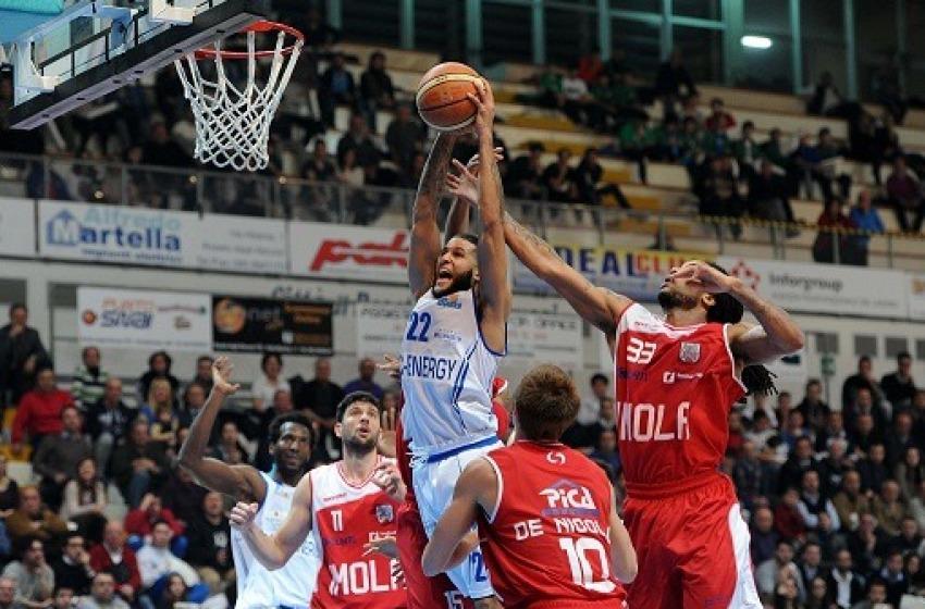 Gli Sharks Roseto centrano l'obiettivo play off contro Ravenna Ko al PalaMaggetti 80-75
