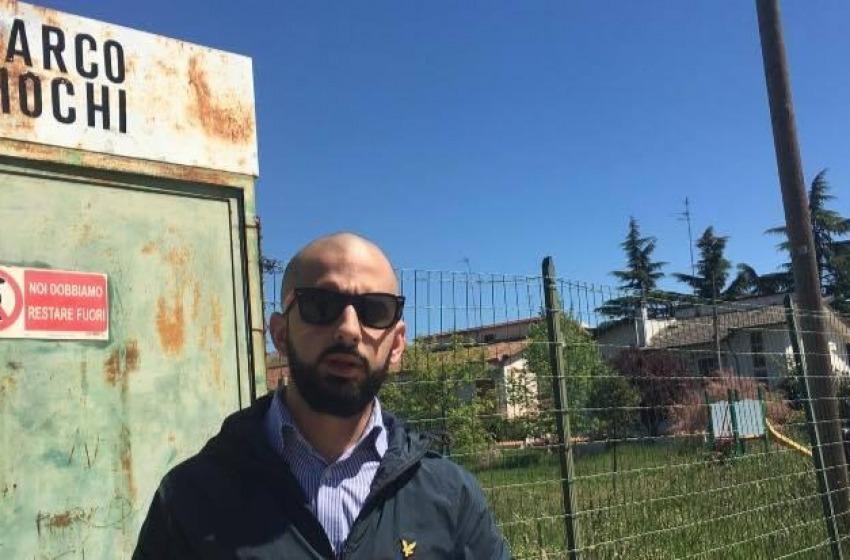 """Lanciano, ultimatum di CasaPound: """"Riaprite il Parco Giochi in zona 167"""""""