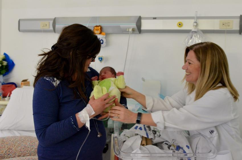 Grande soddisfazione a Sulmona per il primo parto indolore d'Abruzzo