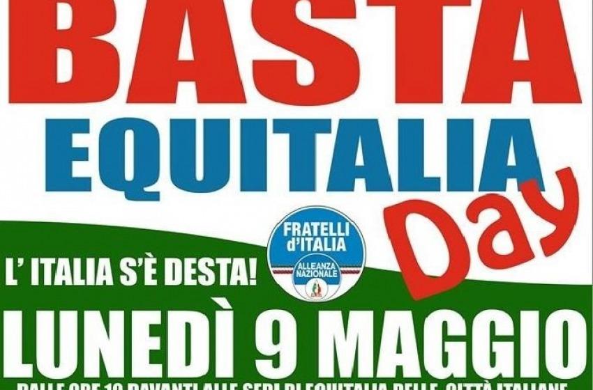 """Fratelli d'Italia promuove anche a Pescara il """"Basta Equitalia Day"""""""