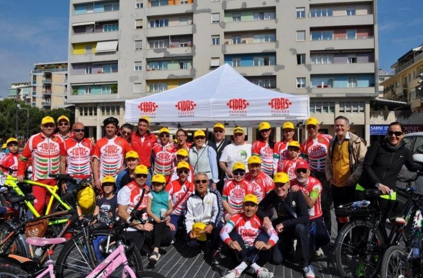"""1.500 ciclisti a Pescara per """"Bicincittà"""""""