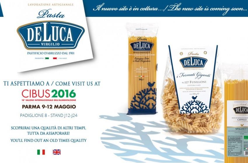 Il Pastificio De Luca espone le nuove linee di pasta alla fiera di Parma