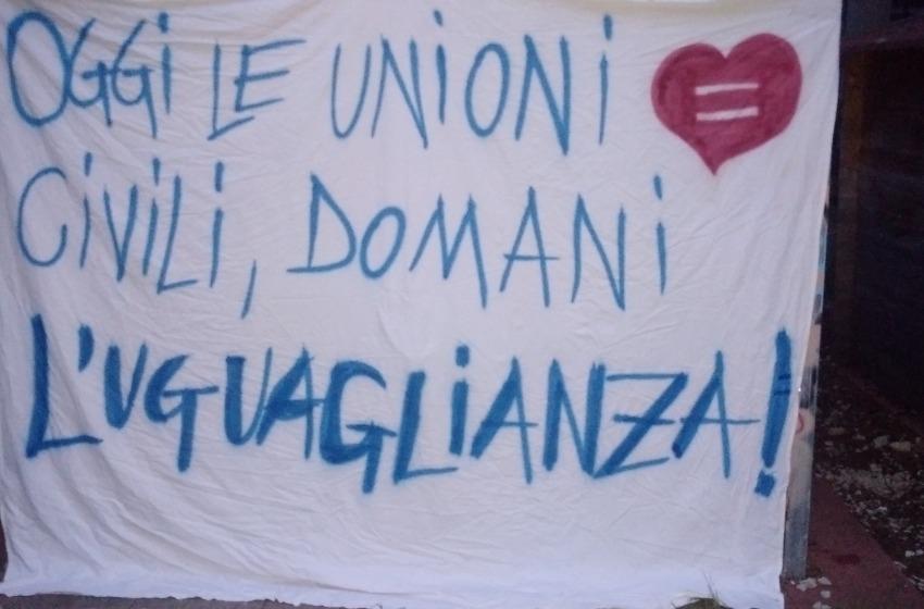 """Legge sulle Unioni Civili, Arcigay: """"Ringraziamo gli aquilani vicini alle nostre battaglie"""""""