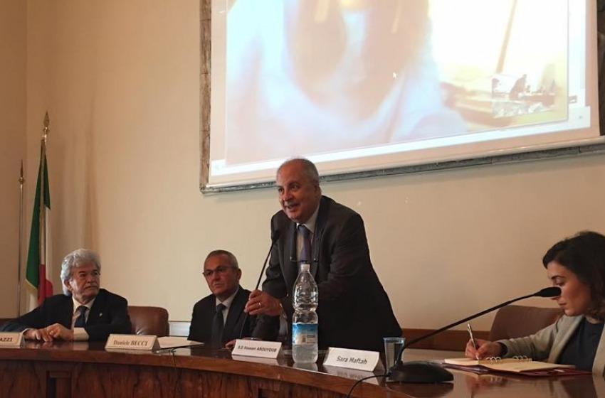 L'ambasciatore del Marocco in visita a Pescara con Razzi