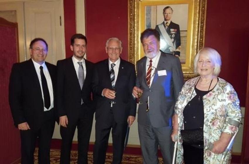 Consegnato il Crafoord Prize al Professor Roy Kerr dell'Icranet