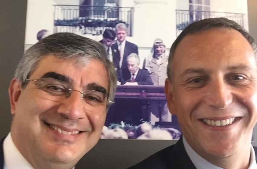 D'Alfonso e Alessandrini volano da Shimon Peres e vanno a fare la pace in Israele