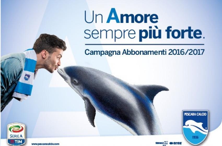 """""""Un Amore sempre più forte"""". Ecco i prezzi dei biglietti per tifare Pescara in Serie A"""