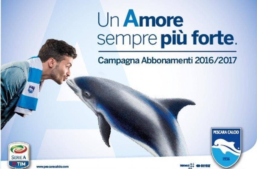 """Pescara Calcio: via libera alla vendita """"libera"""" degli abbonamenti per la stagione in Serie A"""