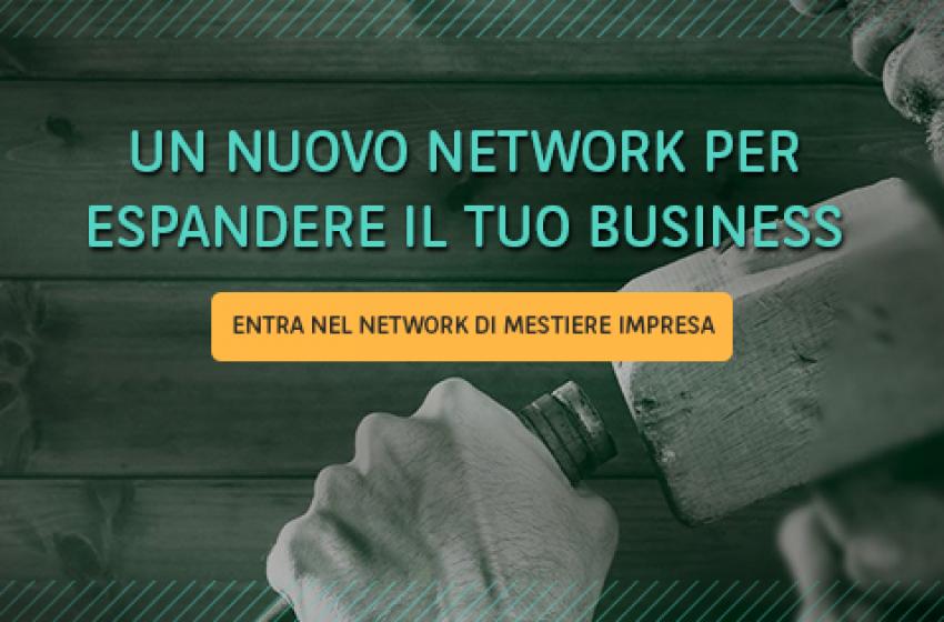 MESTIERE IMPRESA: IL PRIMO BUSINESS SPACE TUTTO ITALIANO