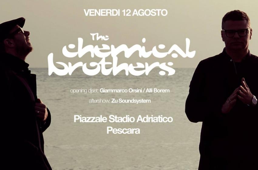 Concerto evento dei  Chemical Brothers apre la settimana di Ferragosto