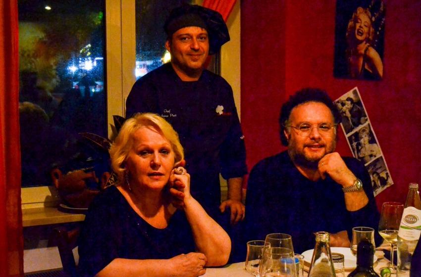 Lo chef Silvano Pinti conquista Katia Ricciarelli