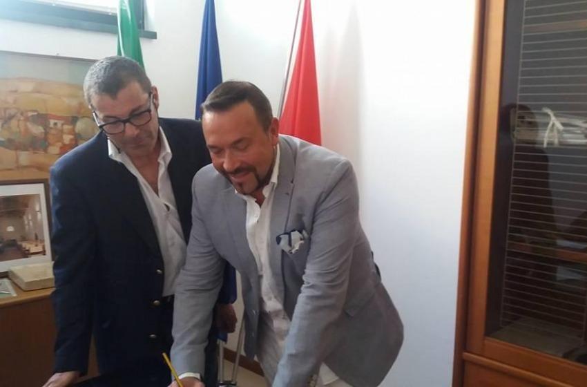 Unioni civili, Filippo Flocco e Carmine Pavone hanno scelto Atri per la loro cerimonia