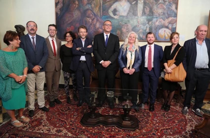 'Zagat' Alessandrini distribuisce le deleghe agli assessori della Città di Pescara