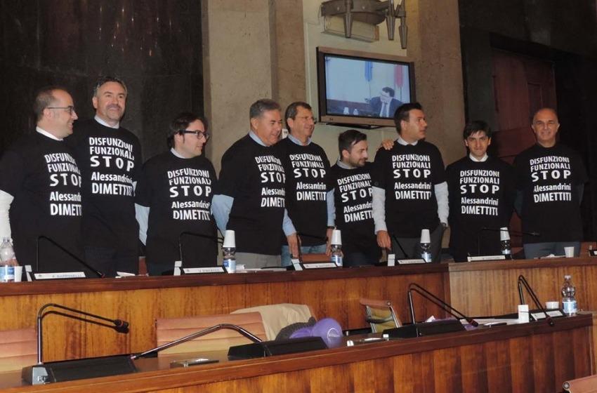 Fi, Pescara in Testa e M5s chiedono le 'solite' dimissioni al sindaco Alessandrini