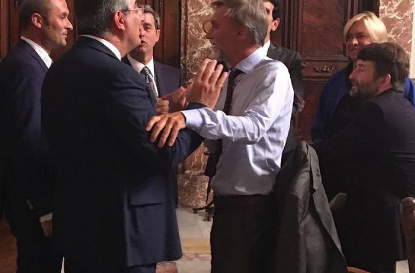 Il Governatore D'Alfonso cede al Ministro Delrio l'autorità portuale del medio Adriatico