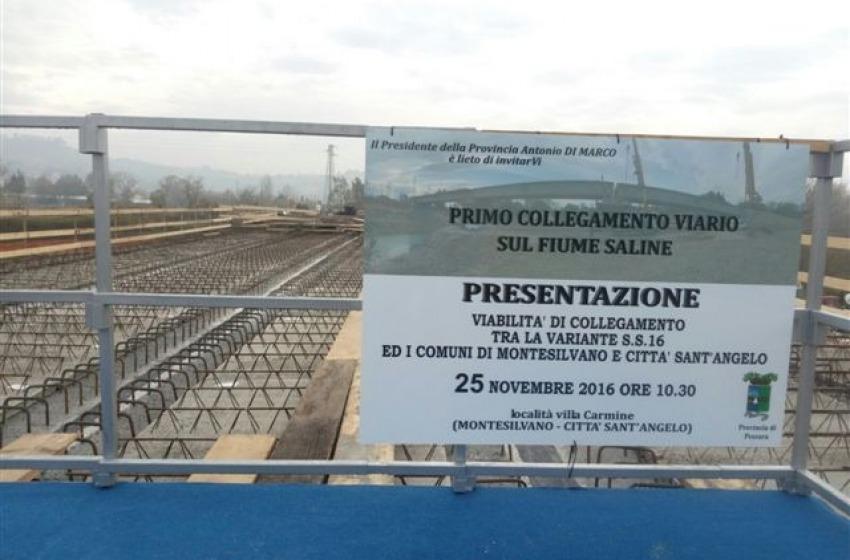 Finalmente è stato inaugurato il ponte che collega Montesilvano e Città Sant'Angelo