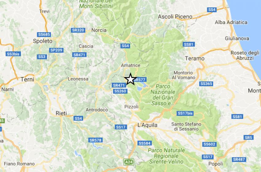 Trema ancora la terra nel Capoluogo d'Abruzzo. 4.4 la magnitudo rilevata dai sismografi