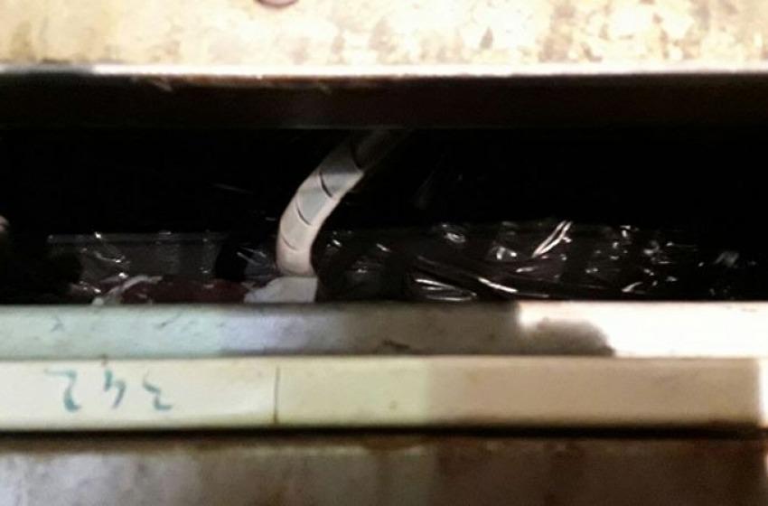 Ecco le armi nascoste di Rancitelli. Anche stavolta erano nascoste negli ascensori