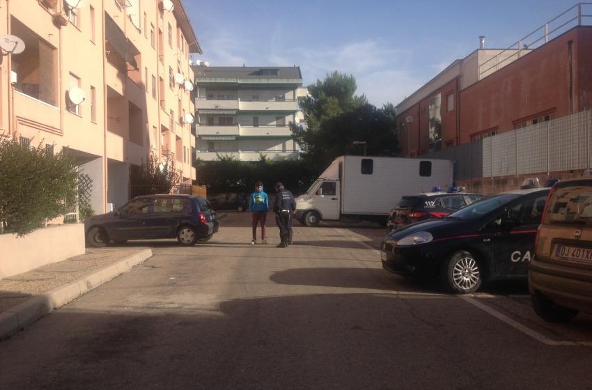 Sgomberato appartamento occupato abusivamente da una famiglia in via Rimini