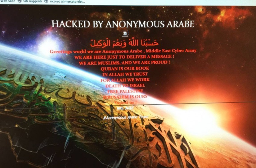 Hackerato di nuovo il sito istituzionale del Comune di Montesilvano