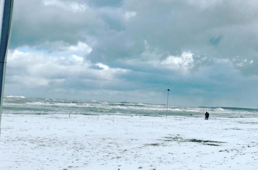 Abruzzo nella morsa del gelo: l'aria gelida proveniente dai Balcani favorirà le nevicate