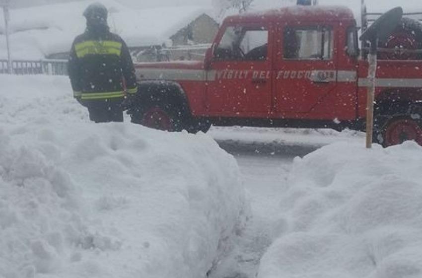Emergenza neve: il sindaco Di Primio chiede l'intervento della Protezione Civile