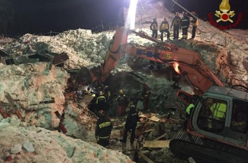 Tragedia Hotel Rigopiano: il bilancio finale è di 29 vittime