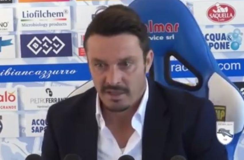 """""""Colpo di scena"""" alla Pescara Calcio, Sebastiani manda via Oddo: squadra a Zauri"""