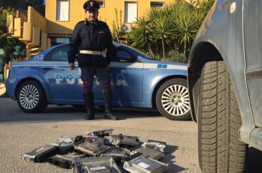 Blitz contro i furti di automobili a Chieti e Pescara, tre arresti a Cerignola