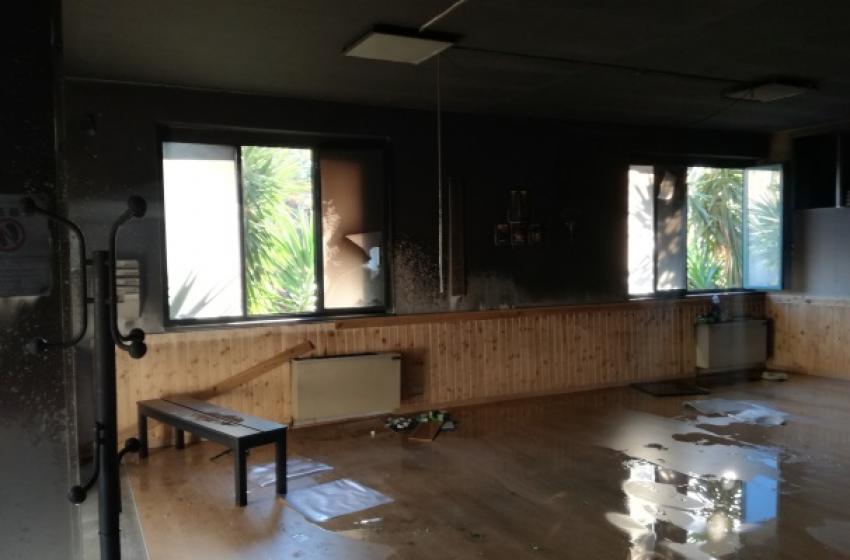 Incendio doloso nella palestra di arti marziali, arrestato 36enne vastese